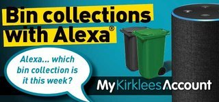 Alexa bin collection