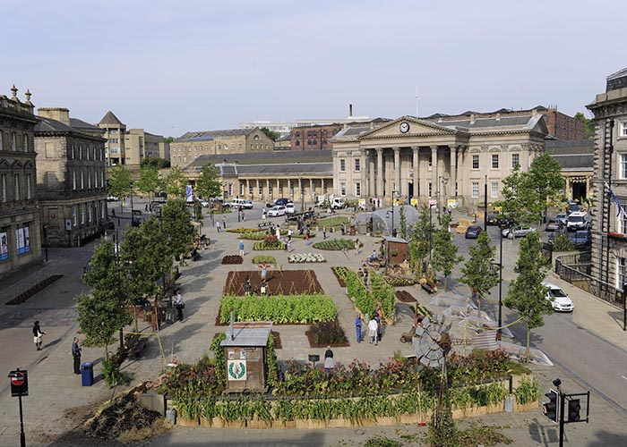 S44 Bus Time >> Outdoor Spaces St George S Square Kirklees Council