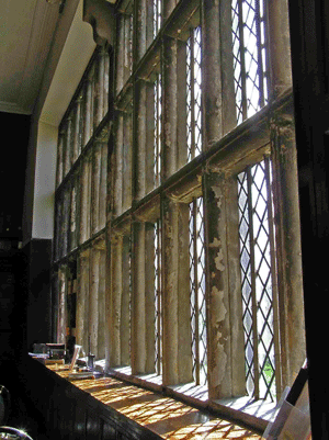 Oakwell hall windows