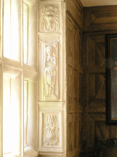 Oakwell hall wall decoration