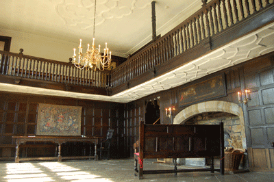 Oakwell hall parlour