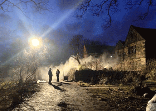 Oakwell hall ghost story