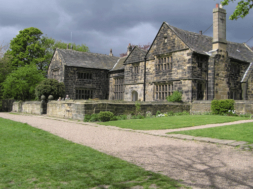 Oakwell hall house
