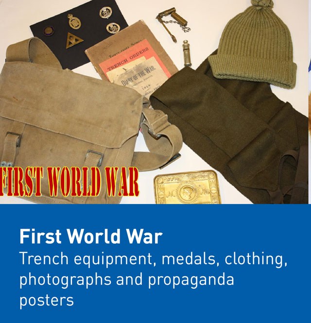 First World War museum box