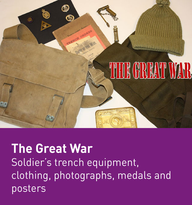 The Great War museum box