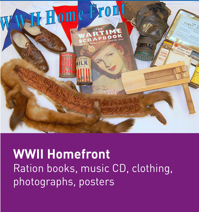 World War II homefront box