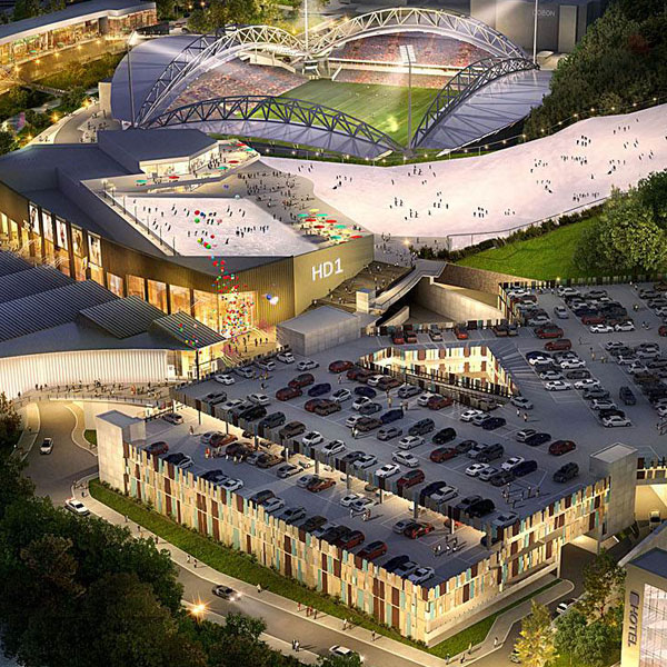 Artists impression of The HD One site, Huddersfield