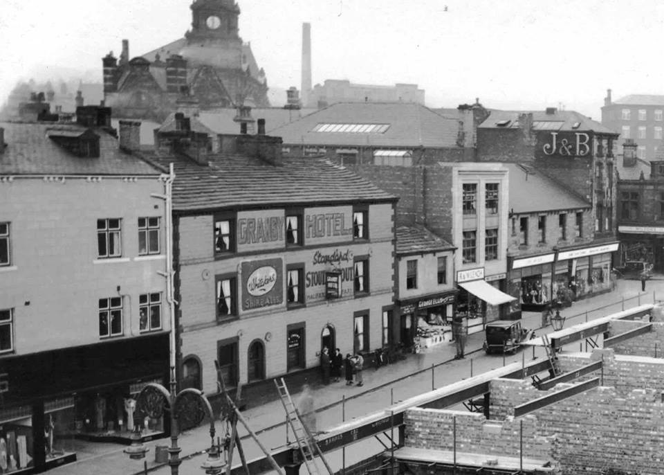 Old photograph of Foundry Street