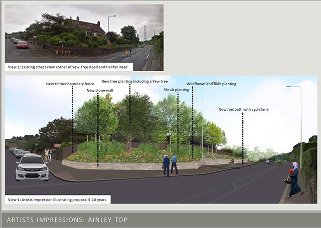 Ainley Top before and after