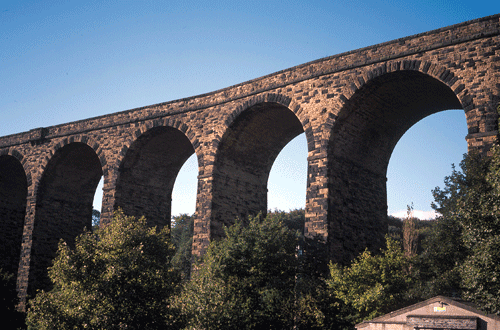 viaduct in the Dearne Valley