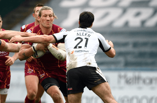 Huddersfield Giants rugby game