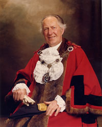 Councillor Fred Pickles, J.P.
