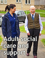 Adult Social Care and support section