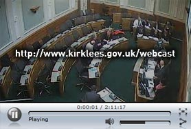 Watch webcasts of Kirklees Council meetings